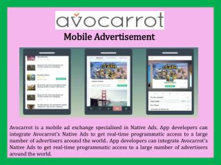 Mobile Advertisement