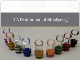D A Distribution of Strictlyecig