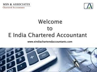 Top Ahartered Accountant Firm in Delhi - eindiacharteredaccountants.com