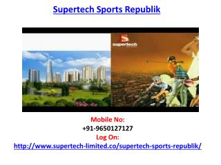 Supertech Sports Republik Housing Project