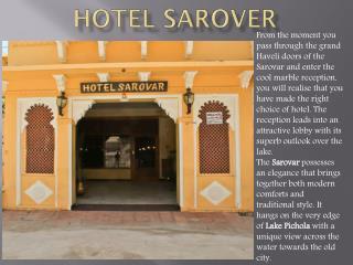 Hotel Sarover