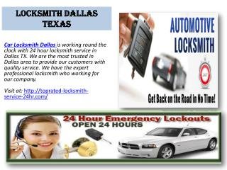Car Locksmith Dallas