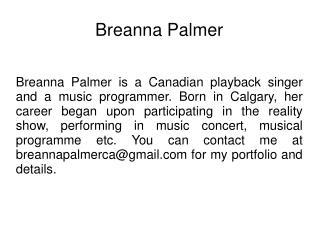 Breanna Palmer