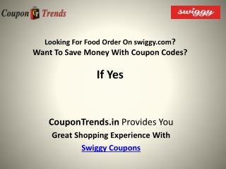 Swiggy coupons