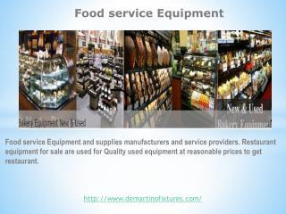 Food servicve Equipment