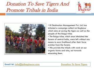 Donate Money To Jai Baghesur Fest