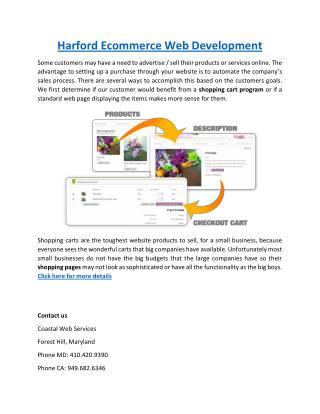 Harford Ecommerce Web Development