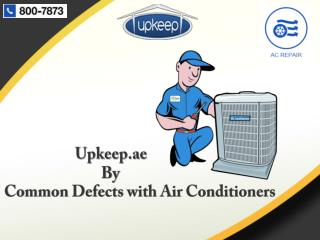 Quality Services For AC Repairing and Maintenance in Dubai