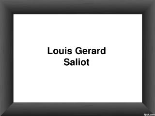 Louis Gerard Saliot | CEO EAM Group