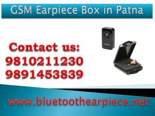 GSM Earpiece Box in Patna,9810211230