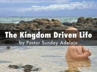 Seek First the Kingdom of God