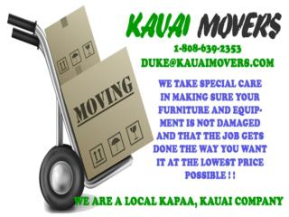 Kauai Movers For Local Kapaa - Kauai Company