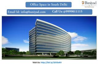 Buy Office Space in South Delhi