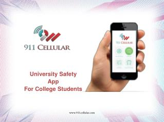 University Safety App For College Students