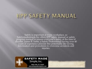 iipp safety manual
