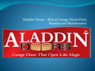 Garage Door Repair and Replacement Specialists