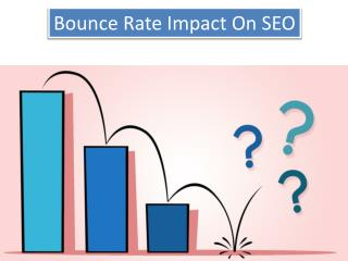Bounce Rate Impact On SEO