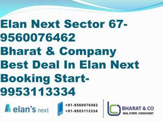 Elan Next, 9560076462,Elan Next Sector 67 Gurgaon, Bharat & Company