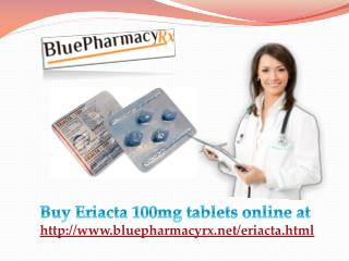 Eriacta is a Medicinal Therapy for Erectile Dysfunction