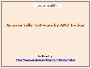 Amazon Seller Software by AMZ Tracker