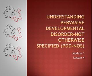 Understanding Pervasive Developmental Disorder-Not Otherwise Specified PDD-NOS