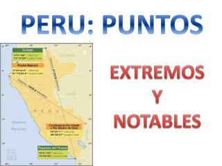 PERU: PUNTOS