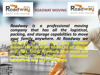 Best Moving Company in NYC - Roadway Moving