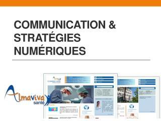 Communication & Stratégies numériques