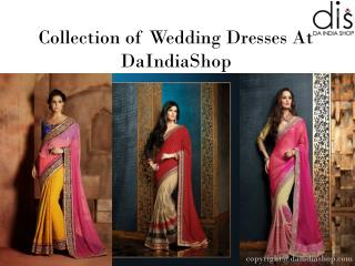 Best Collection of Wedding Dresses | Da India Shop