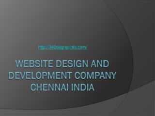 Website Design and Development Company Chennai India