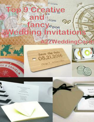 Top 9 Most Creative And Fancy Wedding Invitations