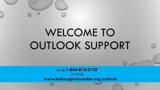 Outlook Customer Service Phone Number 1-844-815-2122 (Toll Free)