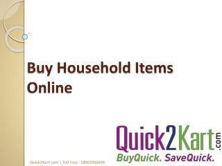 Buy Household Items Online