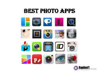 Best photo apps