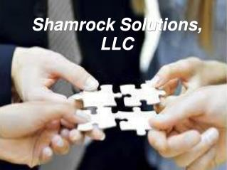 Shamrock Solutions, LLC – Get the Right Guidance