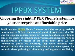 Choosing the right IP PBX Phone System for your enterprise at affordable price