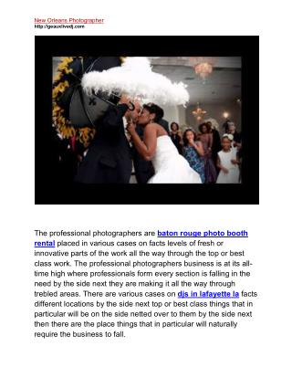 Photographers in Lafayette la