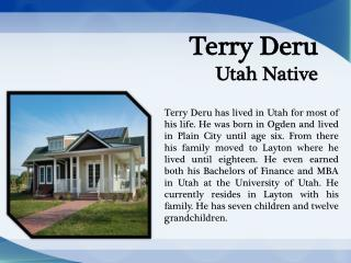 Terry Deru-Utah Native