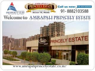 Amrapali Princely Estate noida
