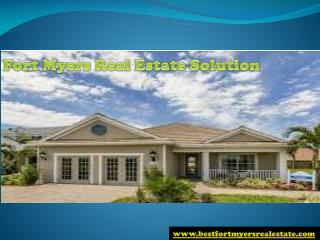 #Fort Myers Real Estate Solution in FL