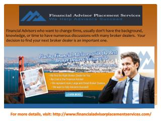 Changing Broker Dealers