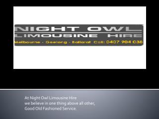Night Owl Limousine