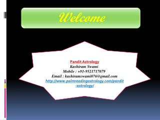 Pandit Astrology contact no. 9521717079