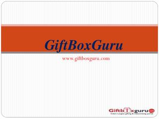 GiftBoxGuru – A Corporate Online Gift Shop