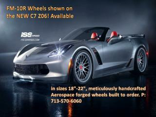 Handcrafted Forged wheels | ISS Forged