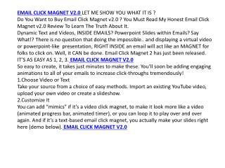 email click magnet v2.0