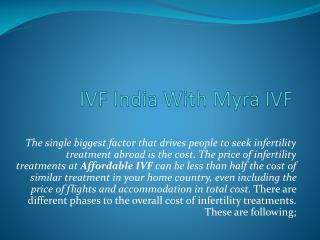 IVF India With Myra IVF