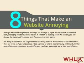8 Things That Make an Website Annoying
