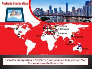 Australia Immigration Visa Consultant Services From India