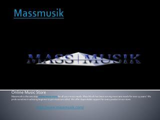 Online Music Store